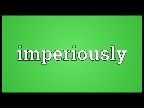 Header of imperiously