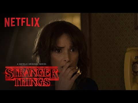Stranger Things - Winona Ryder Featurette - Netflix [HD]