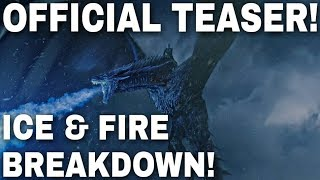 The Official Game of Thrones Season 8 Teaser Breakdown - Game of Thrones Season 8 (Trailer)