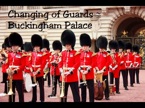 Changing guard @ Buckingham Palace, London UK 2016