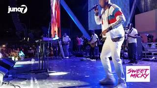 Sweet Micky Live  @ the Haitian Compas Festival