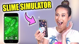 SUPER POPULAIRE SLIME SIMULATOR APP TESTEN! || Fan Friday