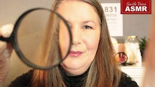 ASMR Doctor Roleplay  | Facial Skin Exam | Typing | Follow the Light |  ASMR Deutsch/German