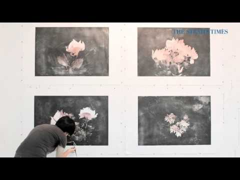 Singapore artist Genevieve Chua