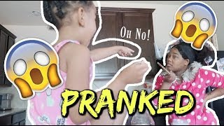 Disrespectful 4 Year Old Kid Prank On Momma (SHE TRIED TO SPANK ME)