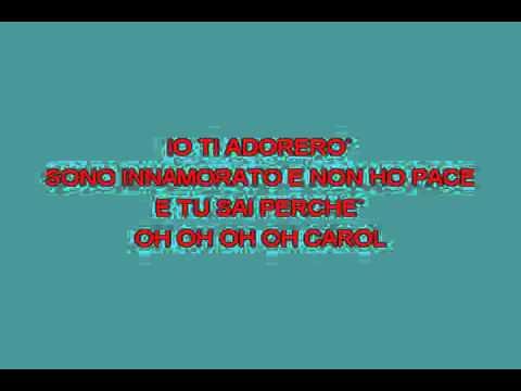 Oh Carol [karaoke]