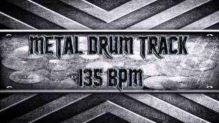 Metal Drum Track 135 BPM (HQ,HD)