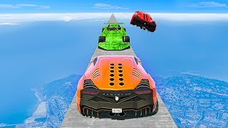 ULTIMATE MILE HIGH TROLL LEVEL! - GTA 5 Funny Moments