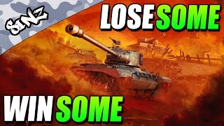 WIN SOME, LOSE SOME - World of Tanks Console | Leopard 1 & E-50M Gameplay