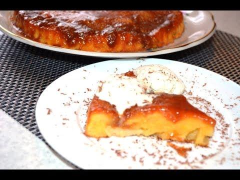 Яблочный пирог с теплой карамелью. Очень просто и вкусно :)