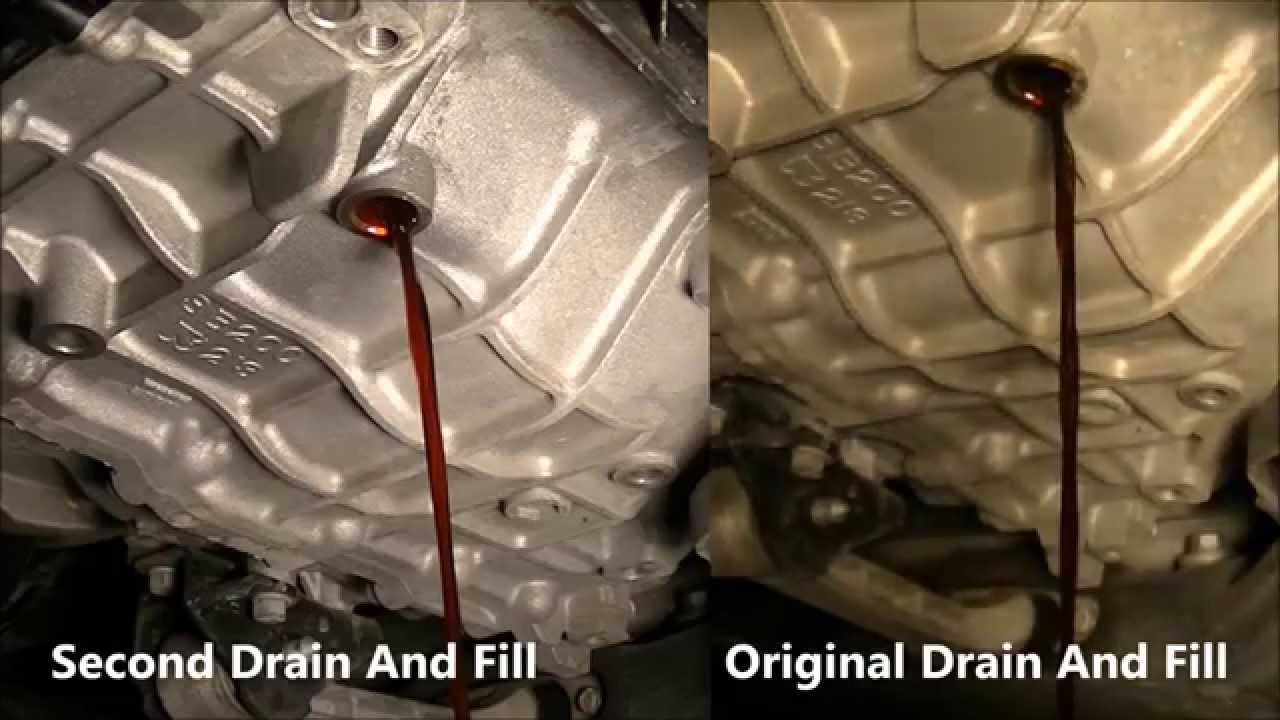 Hyundai Sonata 2011 Atf Second Fluid Drain And Fill Part