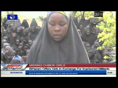 Chibok Girls Abduction: Mother Identifies Daughter In Boko Haram Video
