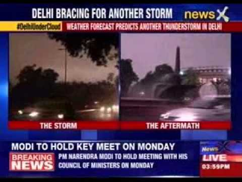 Weather forecast predicts another thunderstorm in Delhi
