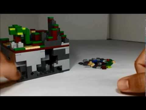 Lego Minecraft Micro World Review Mojang Cuusoo Project 21102