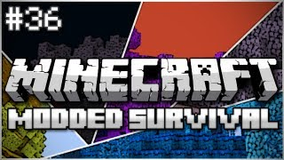 Minecraft: Modded Survival Let's Play Ep. 36 - Pet Bunny Friends!