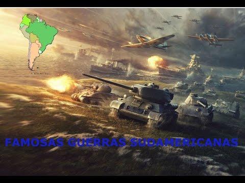 GUERRAS FAMOSAS DE SUDAMERICA