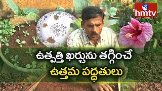 Terrace Gardening Tips By Ragotham Reddy | Nelatalli | hmtv