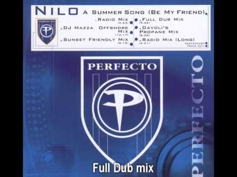 Nilo - A Summer Song (Be my Friend) Full Dub mix