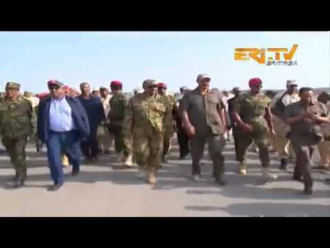 ERi-Tv, Eritrea: The Bure Eri-Ethio Front Officially Opened By Pres. Isaias Afwerki & PM Abiy Ahmed