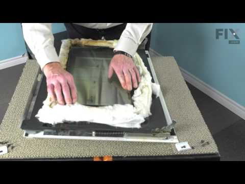 Whirlpool Oven Repair – How to replace the Inner Door Glass