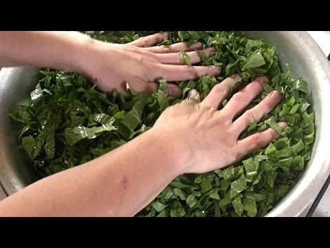 Консервация щавеля без соли проверенный рецепт /Заготовки на зиму.