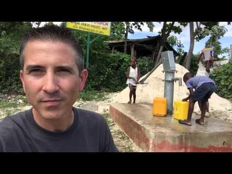 Water in Zorange Haiti
