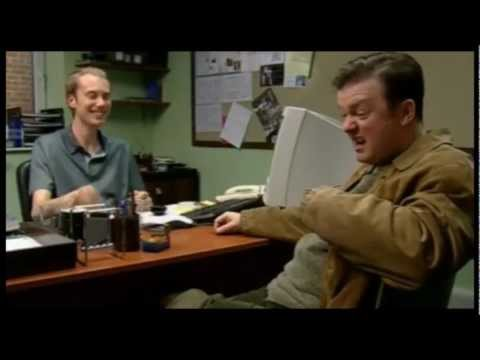 Ricky Gervais Outtakes and Corpsing Compilation