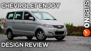 Chevrolet Enjoy Design Review by OnCars India