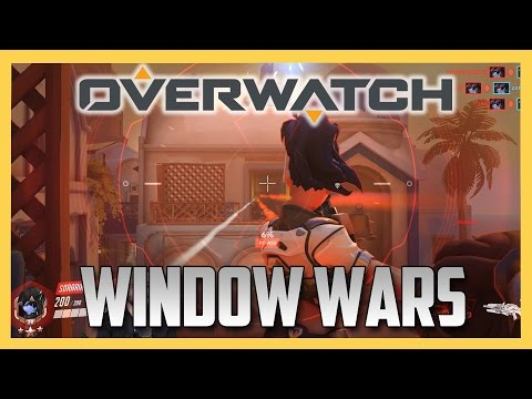 NEW! OVERWATCH WINDOW WARS!