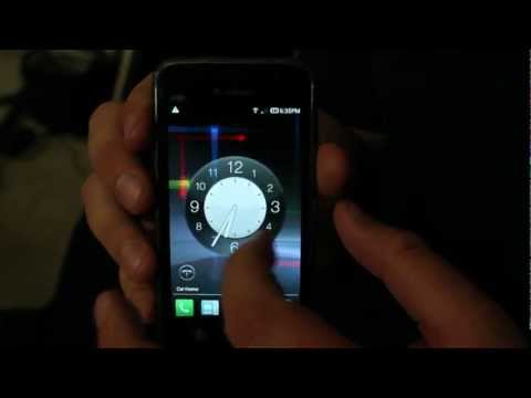 Samsung Vibrant with Android 4.0.4 Ice Cream Sandwich (with Bronco Howard)