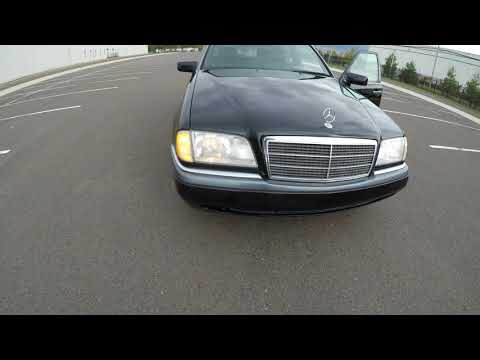 4K Review 1995 Mercedes-Benz  C220 Virtual Test-Drive & Walkaround
