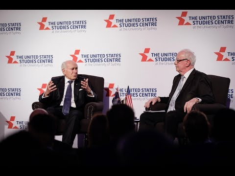 Former Australian prime minister John Howard talks Trump