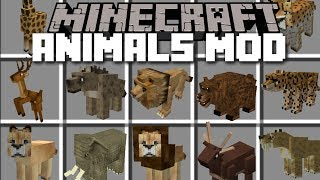 Minecraft ZOO MOD / BREED THE ANIMALS AND WATCH THEM GROW!! Minecraft