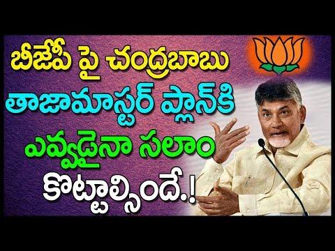 బీజేపీ పై చంద్రబాబు తాజా మాస్టర్ ప్లాన్ కి ఎవ్వడైనా సలాం కొట్టాల్సిందే.! Babu new master plan on BJP