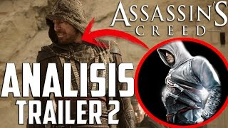 Análisis: Trailer 2 Assassin´s Creed: The Movie