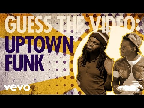Mark Ronson – Uptown Funk (Vevo's Guess The Video)