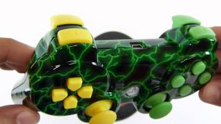 Green Storm V2 HD - PS3 Controllers | HG Arts Modz