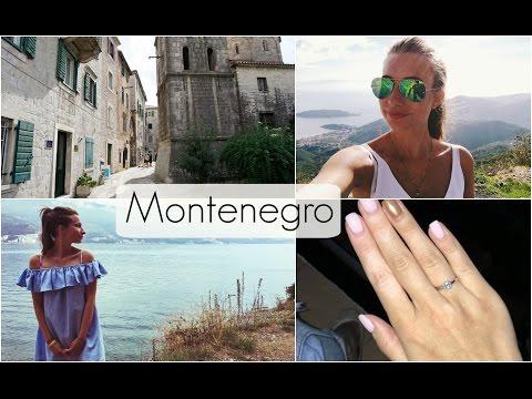 VLOG: Montenegro   ОТПУСК в ЧЕРНОГОРИИ   Я теперь НЕВЕСТА!)