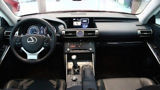 2016 Lexus IS 200t Luxury. interior