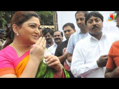 Khushboo's upset tweets   Quits DMK   Hot Tamil Cinema News