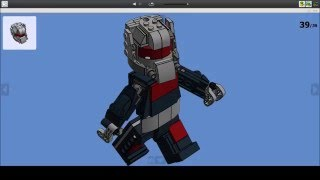 Lego 76051 Marvel Super Heroes Giant Man Building Instructions