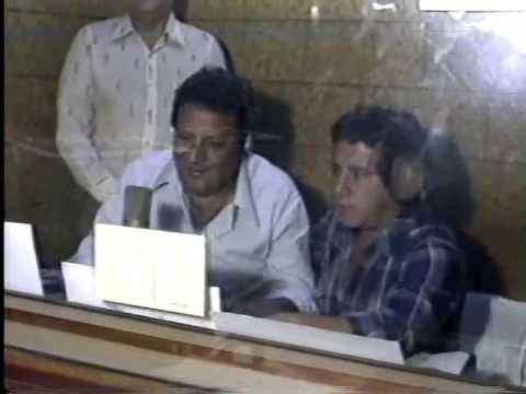 Bastidores da Radio Brasil Central década 1980
