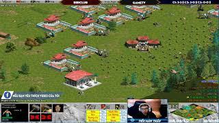 C3T1 - AoE 44 Random BiBiClub vs GameTv Ngày 23-4-2019