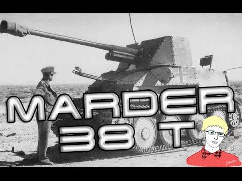 "WoT. Мардер 38T. ""Мастер"". Примечательные бои"