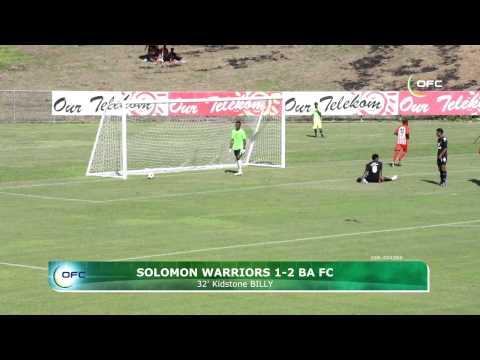 2013 OFC Champions League 2013.04.03 Solomon Warriors vs Ba FC Highlights