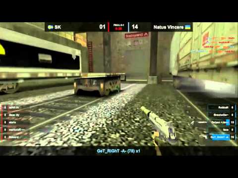 Navi vs SK @ IEM CS Final Map 2 Part 2
