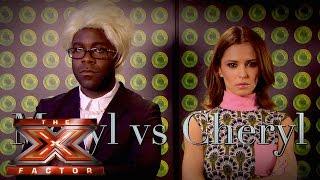Meryl Vs Cheryl   The Xtra Factor UK 2015