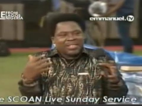 Scoan 31 08 14: Tb Joshua: pray For Barack Obama - Going To Be Rushed To The Hospital. Emmanuel Tv video