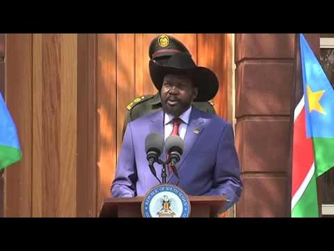 PRESIDENT SALVA KIIR COMMENTS ON OIL DISPUTE