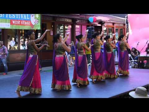 Ajna Dance Performance FAB Festival 2013 - Ghagra Silsila Ye...